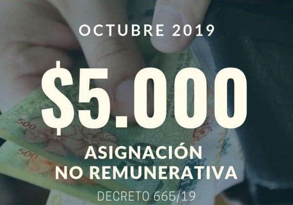 Bono 5000 pesos clave
