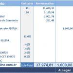 Empleados de Comercio: recalculando la liquidación de septiembre