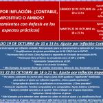 Capacitación online: Ajuste por Inflación Impositivo y Contable [relanzamiento]