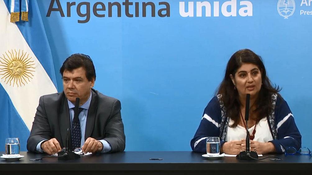 a secretaria de gestión y empleo público, Ana Castellani